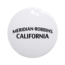 Meridian-Robbins California Ornament (Round)
