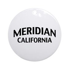 Meridian California Ornament (Round)