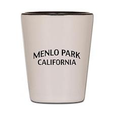 Menlo Park California Shot Glass