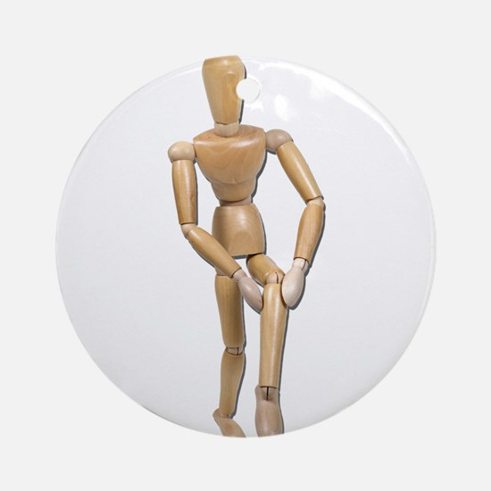 Knee Pain Ornament (Round)
