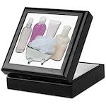 Lotion Cream Scrubber Tub Keepsake Box