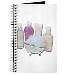 Lotion Cream Scrubber Tub Journal