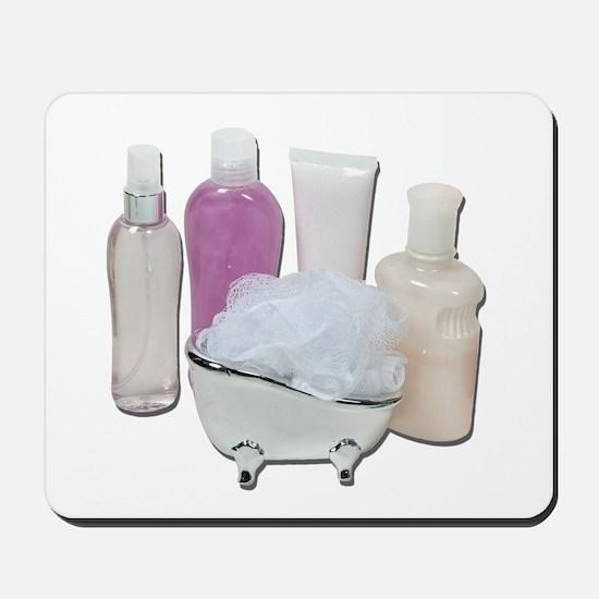 Lotion Cream Scrubber Tub Mousepad