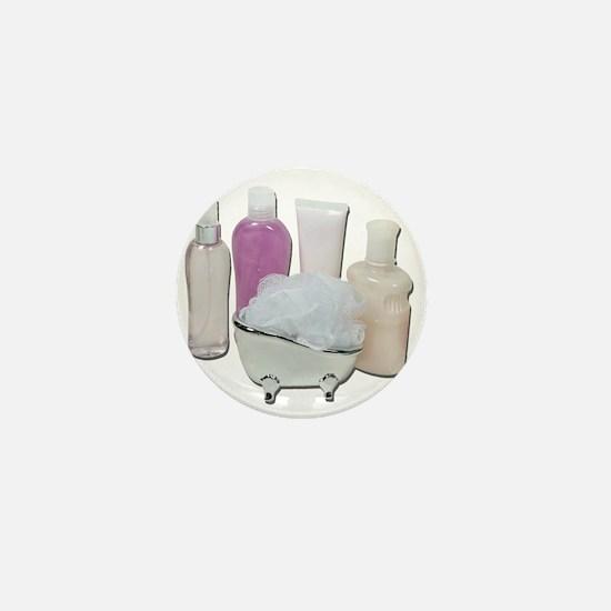 Lotion Cream Scrubber Tub Mini Button