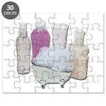 Lotion Cream Scrubber Tub Puzzle