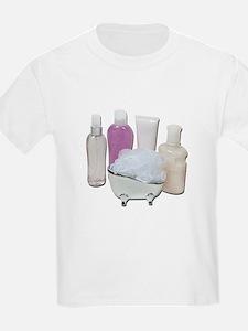 Lotion Cream Scrubber Tub T-Shirt
