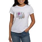Lotion Cream Scrubber Tub Women's T-Shirt