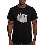 Lotion Cream Scrubber Tub Men's Fitted T-Shirt (da