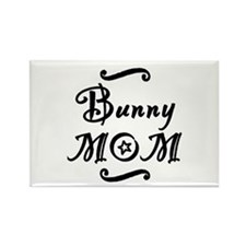 Bunny MOM Rectangle Magnet