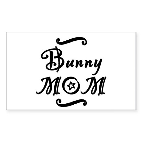 Bunny MOM Sticker (Rectangle)