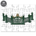 Metal Curved Fence Puzzle