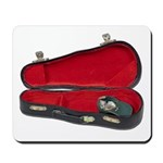 Music Case Hat Full Money Mousepad