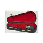 Music Case Hat Full Money Rectangle Magnet (100 pa