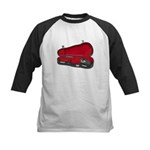 Music Case Hat Full Money Kids Baseball Jersey