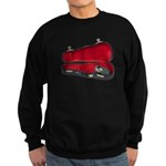 Music Case Hat Full Money Sweatshirt (dark)