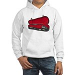 Music Case Hat Full Money Hooded Sweatshirt