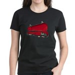 Music Case Hat Full Money Women's Dark T-Shirt