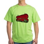 Music Case Hat Full Money Green T-Shirt
