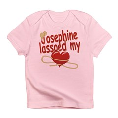 Josephine Lassoed My Heart Infant T-Shirt