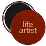 Life Artist Red : Magnet