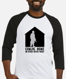 Coming Home White Front Baseball Jersey