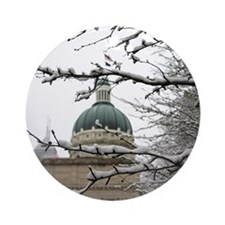 Indianapolis Ornament (Round)