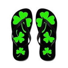 3 Shamrocks Flip Flops