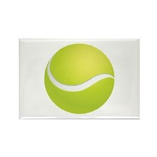 Tennis Rectangle Magnet (10 pack)