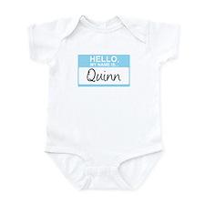 Hello, My Name is Quinn - Infant Bodysuit