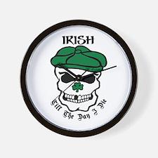 IRISH Till The Day I Die Wall Clock