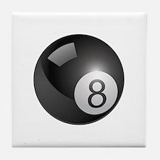 eight ball Tile Coaster