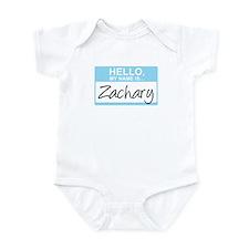 Hello, My Name is Zachary - Infant Bodysuit