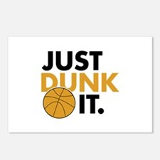 JUST DUNK IT. Postcards (Package of 8)