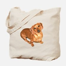 Tiger Doxie Tote Bag