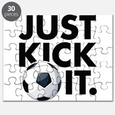 JUST KICK IT. Puzzle