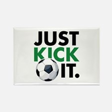 JUST KICK IT. Rectangle Magnet (100 pack)
