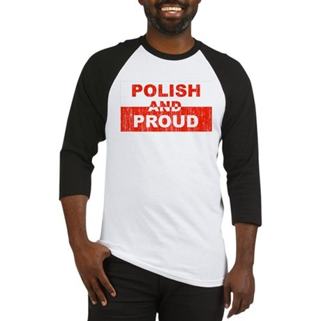 Polish and Proud Baseball Jersey
