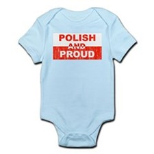 Polish and Proud Infant Creeper