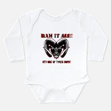 Ram it Long Sleeve Infant Bodysuit