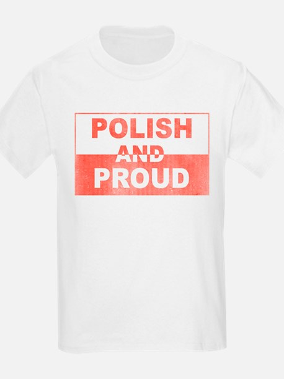 Polish and Proud-III Kids T-Shirt