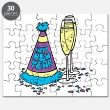 New Year's Party Hat Puzzle