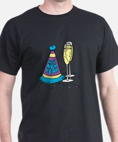 New Year's Party Hat T-Shirt