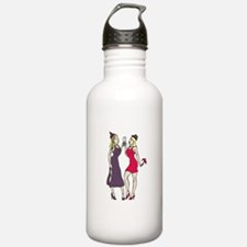 New Year's Party Girls Water Bottle