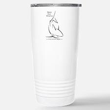 Cute Save the sharks Travel Mug