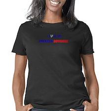 Proud Marine Wife Performance Dry T-Shirt