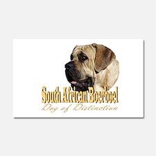 Boerboel Dog of Distinction Car Magnet 20 x 12