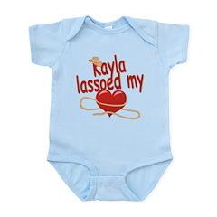 Kayla Lassoed My Heart Infant Bodysuit