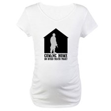 Coming Home White Front Shirt