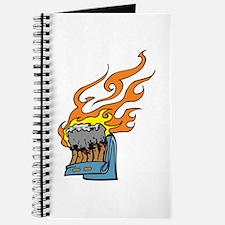 Flaming Matchbook Journal