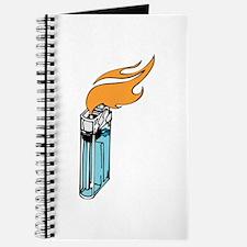 Flaming Lighter Journal